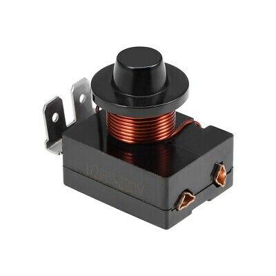 Koelkast Starter Relais 1/2 HP-220 V 375 W Compressor Vervanging Deel 3Pin