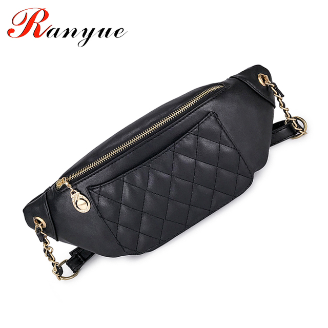 Women Chest Bags Waist Belt Bag Lady Fashion Leather Famous Brand Multifunctional Designer Crossbody Bag For Girls Shoulder