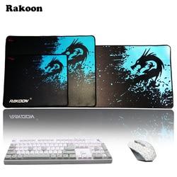 Rakoon speed control version large gaming mouse pad gamer locking edge mouse keyboards mat grande mousepad.jpg 250x250