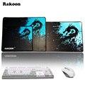 Rakoon Velocidad/Control de Versión Grande Gaming Mouse Pad Gamer Dota Teclados Ratón Mat Mousepad Grande para CSGO Borde de Bloqueo 2 LOL