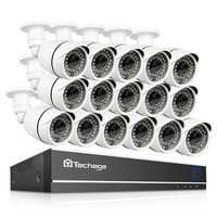 Techage 16CH 1080 P AHD DVR 2MP étanche HD IR caméra de Vision nocturne P2P Kit de Surveillance vidéo à distance système de vidéosurveillance de sécurité à domicile