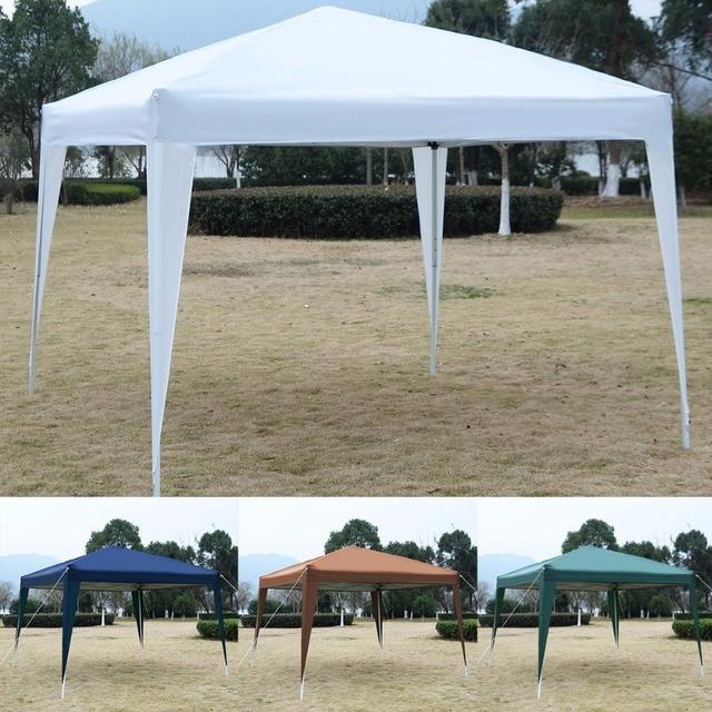 GOPLUS 10 X10 EZ POP UP Canopy Tent Gazebo Wedding Party Shelter Carry