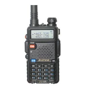 Baofeng talkie-walkie UV-5R avec doublure radio cb version mise à jour Baofeng uv5r 128CH 5 W VHF 136-174 MHz et 400-520 MHz dmr