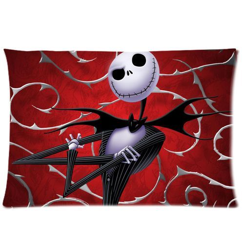 Hot The Nightmare Before Christmas Pillow Cases Cover Custom Jack