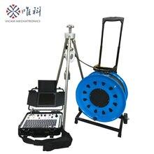 Vicam 200 М камера для скважины с кабелем, камера для скважины с 55 мм водонепроницаемой камерой 10 бар и цифровым счетчиком V8-100