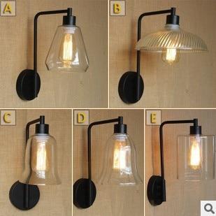 60 Watt Retro Stil Loft Vintage Industrielle Lampe Leuchten Mit
