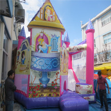 Inflatable Combo Slide Bouncy Castle princess inflatable Bouncer CE/UL blower YLW-bouncer 190