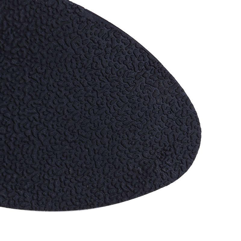 2019 の下に 1 ペアアンチスリップパッド · グリップスティックノンスリップラバーソールプロテクター自己粘着靴パッドマットホット!