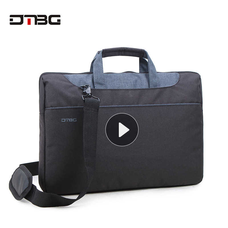 d9c987004298 DTBG Classic Laptop Tote Bags 15.6 Inch Women Shoulder Bag Nylon Waterproof  Laptop Case For Tablet Men Work OL Handbag Briefcase
