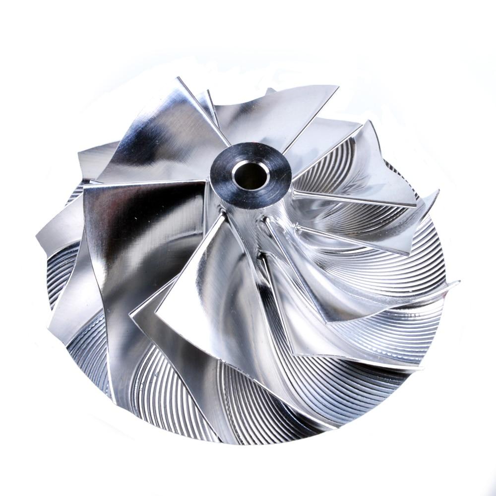 Kinugawa Turbo Billet Compressor Wheel 41/50.96mm 6+6 for Mitsubishi TD03|wheels wheel|wheels for|wheel compressor - title=