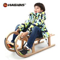 HAGIBIS Лидер продаж зимние сани, бук, сноуборд, сани для подростков старше 5 лет