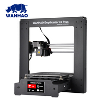 new upgrade teaching practice medical and health architectural wanhao I3 plus mark II 3D printer big size and auto bed leveling