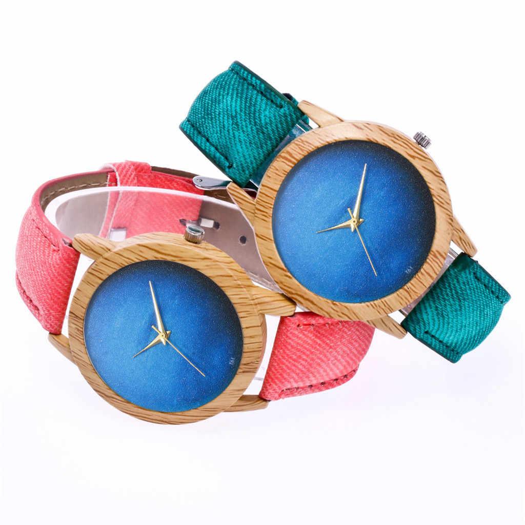 2019 Relogio Feminino Women Fashion Casual Leather Strap Quartz Round Wristwatch Band dropshipping Saat Bracelet Reloj Mujer