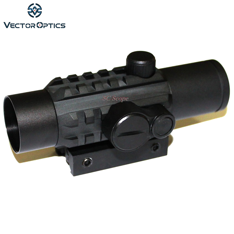 Vector Tactical 1x28 Tri-Rails Red Dot Sight Scope With Integrated Twin Mount for 20mm Picatinny and 11mm Dovetail Rail Hunting mini compact tactical red dot laser bore sight scope with 20mm picatinny rail mount