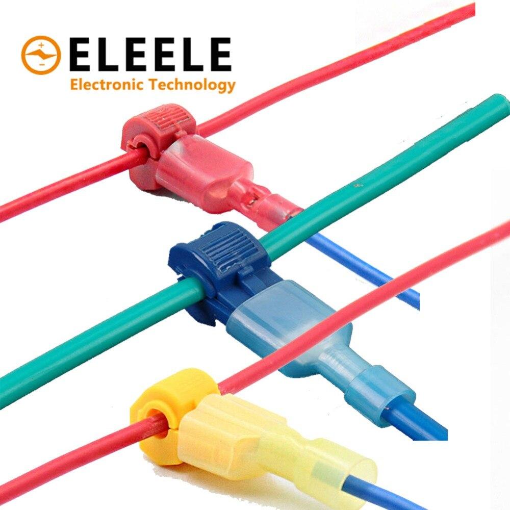 15 Set Effizient 30 Pcs Draht Kabel Anschlüsse Terminals Crimp Scotch Lock Schnell Splice Elektrische Auto Audio 22-10awg 0,5mm-6mm Kit Werkzeug Set