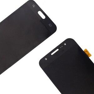 Image 4 - AMOLED Für Samsung Galaxy J5 2015 J500 LCD Display touchscreen digitizer Montage J500H J500FN J500F J500M SM J500F Telefon Teile