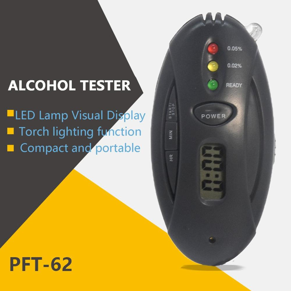 2120 Portable Hand-Held Air Alcohol Tester Drunk Driving Special Breathable Digital Alcohol Detector