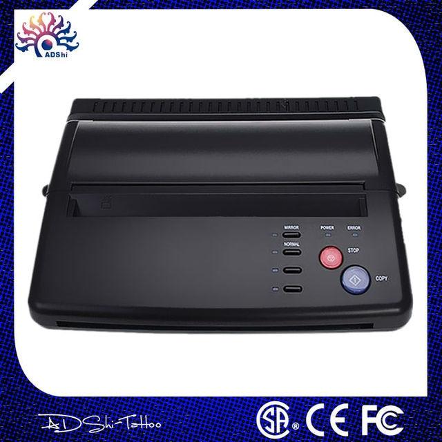 DHL Free shipping Original Top quality Professional Black A4 Tattoo thermal copier stencil copy Transfer Machine Printer Machine
