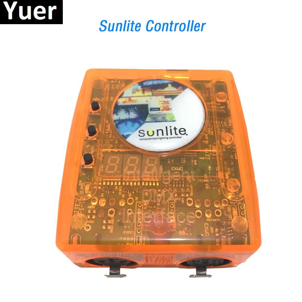 Sunlite SL1024 Computer Controller Classic Virtual Dj Disco Controller USB DMX Interface Dj Controller Sunlite Dmx Controller
