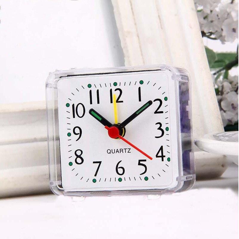 DIY car retro style travel desktop alarm clock mini clock ...