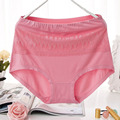 QA07 New arrival good quality sexy lace underwear women fashion cotton panties cute briefs plus size 2XL-5XL