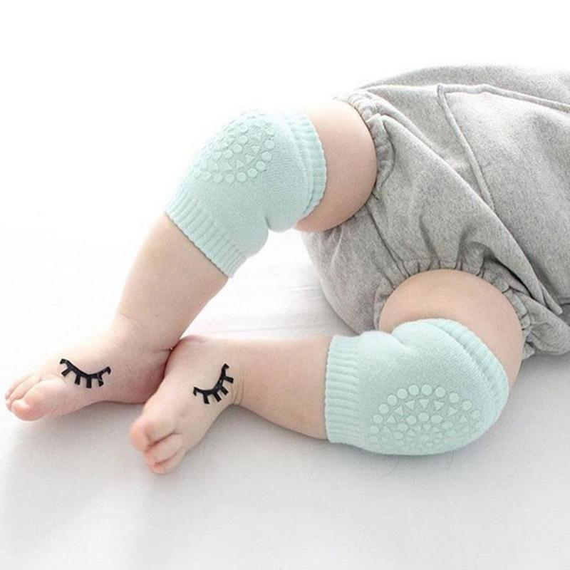 1 Pair Toddler Baby Kneepad Protector Soft Thicken Terry Non-Slip Dispensing Safe Crawling Baby Leg Warmers Well Knee Child Pads baby knee pads leg protector anti slip crawling accessory baby leg knees protector warmer baby crawling leg warmers yyt362