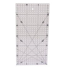 1 buc Diy Mana de mână 30 * 15cm Material acrilic Patchwork Tailor Cutting Rules Multi-function Ruler International General