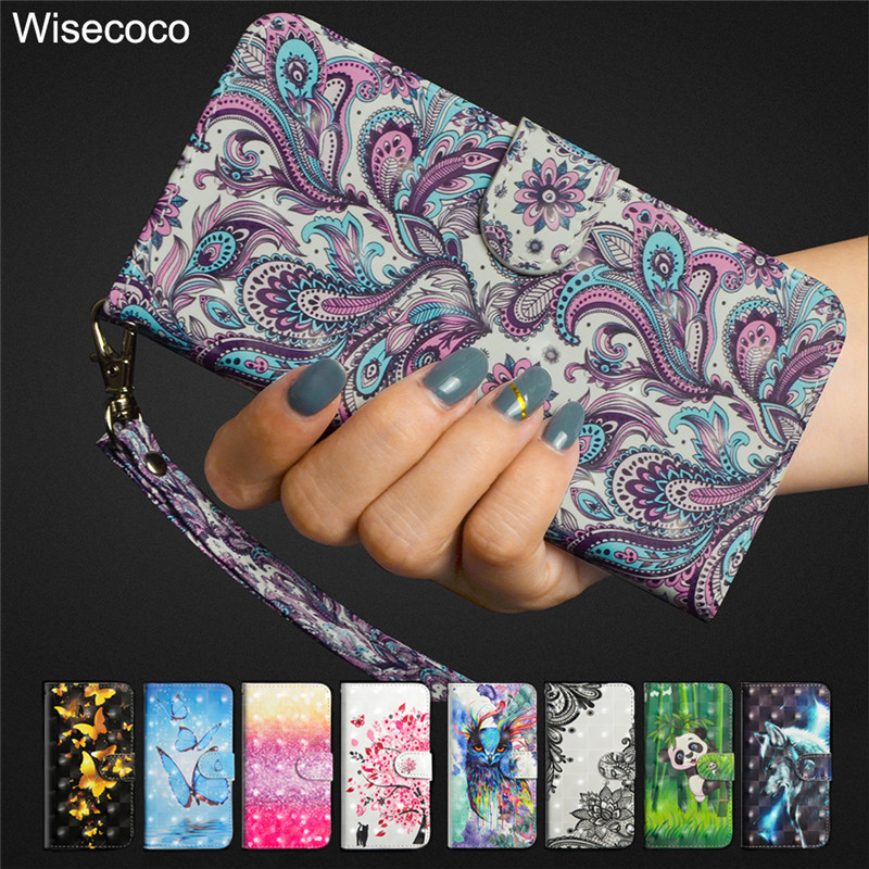 Luxury Flip Leather Case For Huawei Y5 2017 Y5 Iii 3 Honor 6 Play Cover Wallet Phone Cases For Huawei Y6 2017 Y62017 Coque Funda