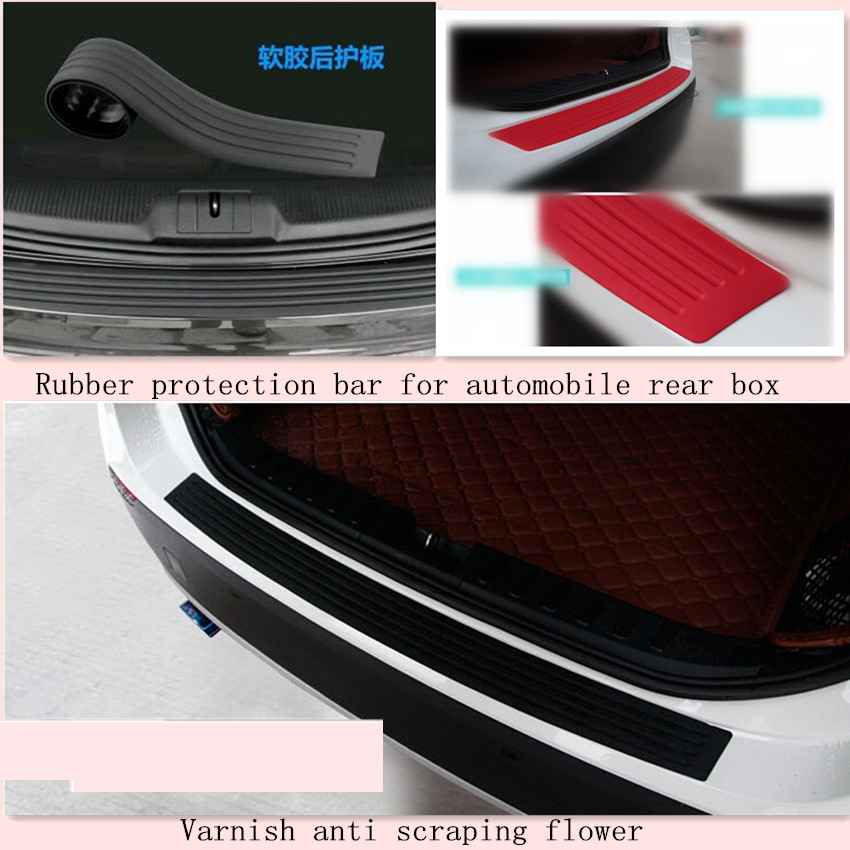 Car Styling Rear Bumper Scuff Cover For Toyota Allion