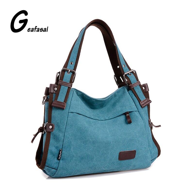 COUPON new hobos canvas handbag shoulder bags strapped messenger bags women ladies CONTRAST COLOR blue khaki red burgundy preppy 2016 new hobos 100