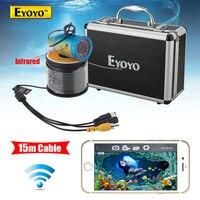 Eyoyo WF01 15M 2 4G WIFI Wireless Fish Finder IR Underwater Fishing Camera Ocean Ice Free