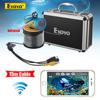 Eyoyo WF01 15M 2 4G WIFI Wireless Fish Finder IR Underwater Fishing Camera Ocean Ice Free