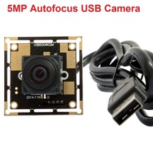 5 MegaPixels 2592*1944 MJPEG &YUY2 UVC autofocus 170degree fisheye lens wide angle usb webcam camera module