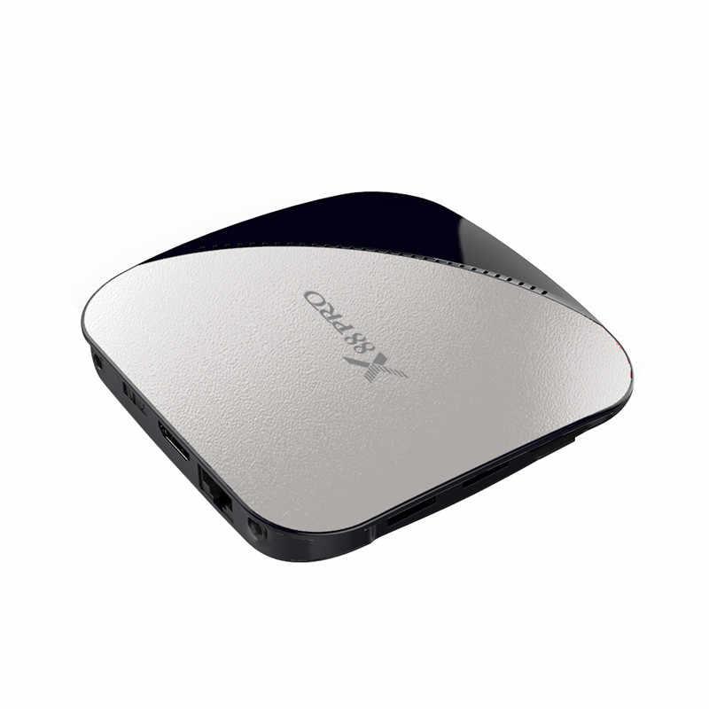 10 قطعة X88 برو مربع التلفزيون الذكية الروبوت 9.0 2 GB/4 GB RAM 16 GB/32 GB/64 GB Rockchip RK3318 رباعية النواة 2.4G و 5G المزدوج واي فاي 4 K PK X96 ماكس