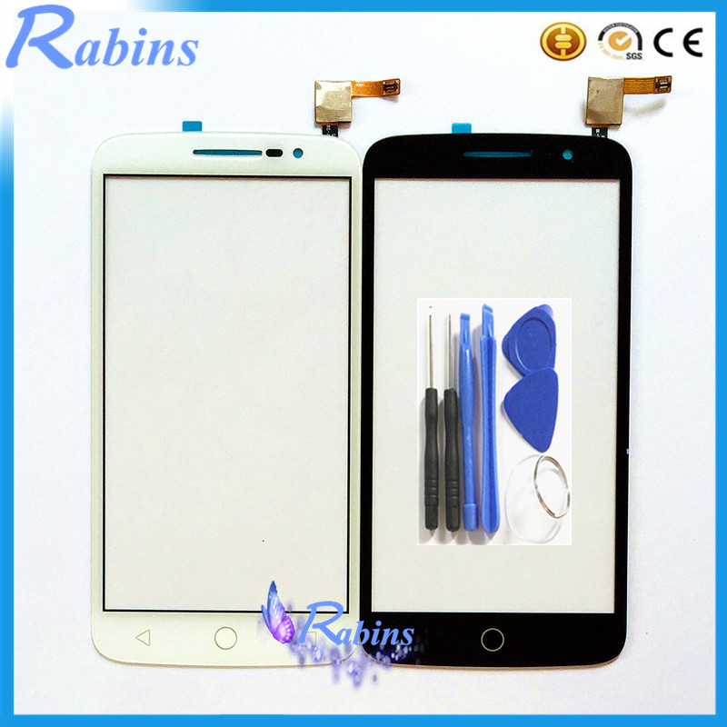 5.0 inch Lens <font><b>Touch</b></font> Panel Sensor Touchscreen For Alcatel One <font><b>Touch</b></font> POP 2 OT <font><b>7043</b></font> OT7043 <font><b>Touch</b></font> Screen Front Glass Digitizer Tools image