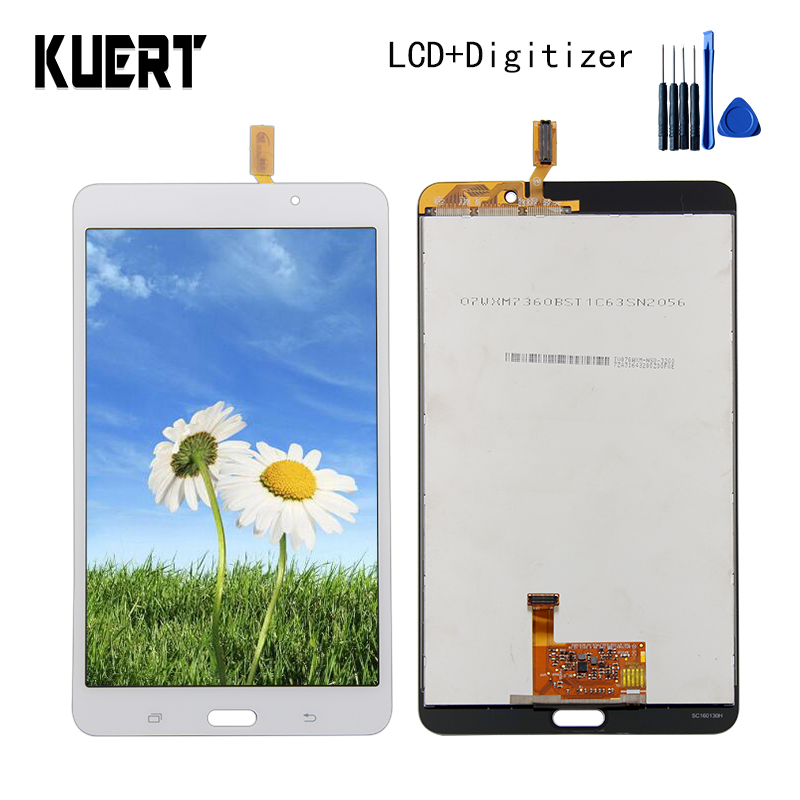 For Samsung Galaxy Tab 4 SM-T230 T230 Panel LCD Combo Touch Screen Digitizer Glass LCD Display Assembly Parts Free Tool lcd display touch screen digitizer assembly replacements for samsung galaxy tab e t560 sm t560nu 9 6 free shipping