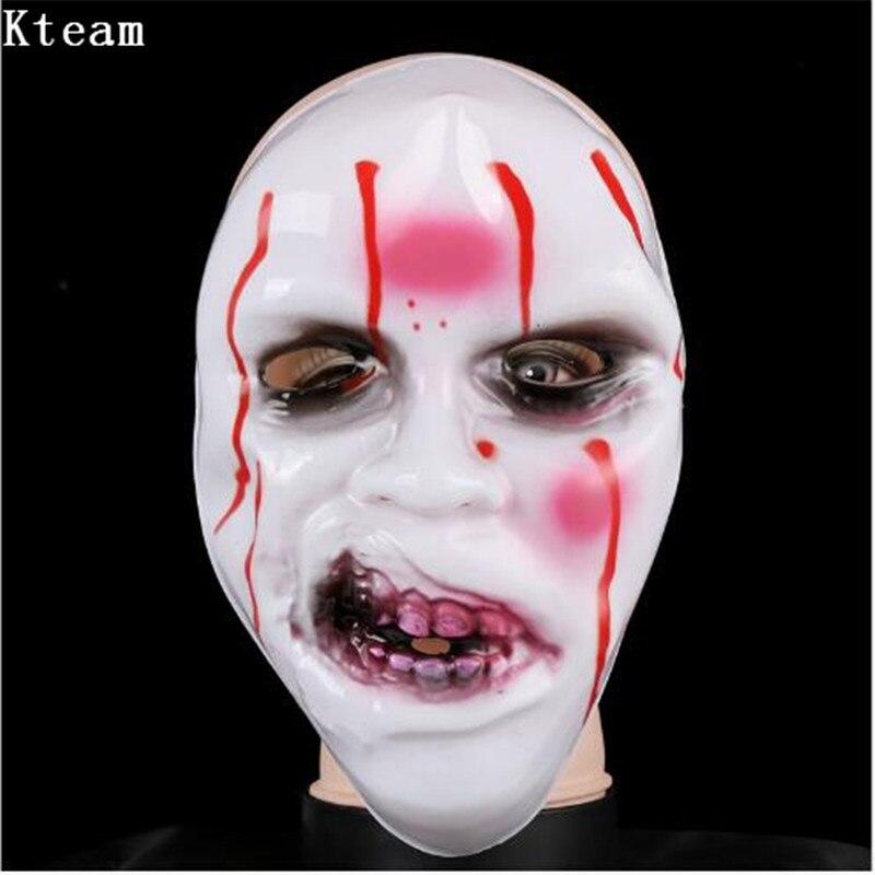 Horror Mask Halloween Skull Scream Zombie Ghost Demon PVC
