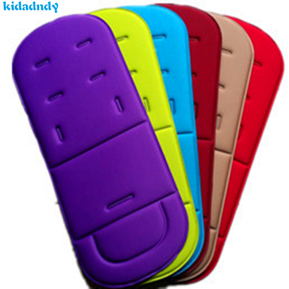 Kidadndy Strollers Indentation Pad Buggy Stroller Lycra Chair Alas Seatpad Strollerpad Mat Cushion Seat Rainbow Childrens Ll811