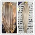 Полный Обуви 2016 Новая Мода Выметания Ombre Волос Bundle Nordic 100% Человеческих Волос Ткачество Дешевые Человеческих волос 100 г Много