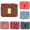 Hot Sale Fashion Korean Cosmetic Handbags Print Waterproof Wash Bag With Hoook Traveling Storage Bag Makeup Bag
