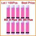 """100 PCS Bateria Adhesive Cola Fita Faixa de Etiqueta Para o iphone 6 s 6 s Plus Para iPhone 6 4.7 """"& para iphone 5s se & para iphone 6 plus"""