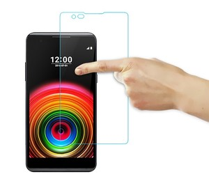 Image 4 - 2 قطعة الزجاج المقسى sFor LG X الطاقة رقيقة جدا واقي للشاشة ل LG X قوة تشديد طبقة رقيقة واقية + تنظيف عدة HATOLY