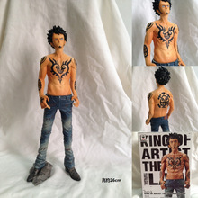 2016 Best Selling One Piece Hand Do Death Surgeon Trafalgar Law Action Figure 25cm Furnishing Articles Decorations Model Gifts