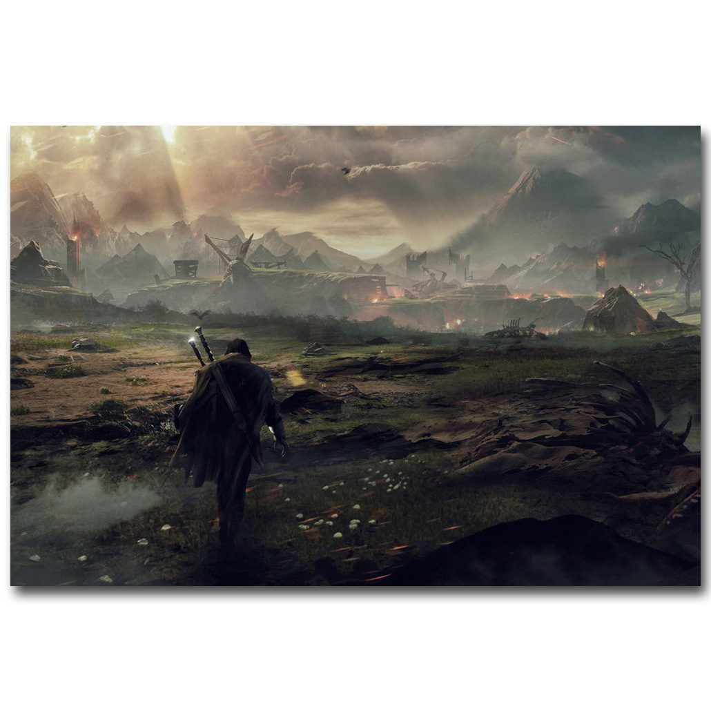 Dark Souls 3 III New Hot Game Art Silk Poster Pictures 13x20 24x36 inch 007