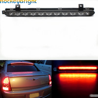 Rockeybright 1set Smoke lens Third 3rd Brake Light For 2007 2014 MINI Cooper R56 R57 R58 R60 3rd rear tail warning parking lamps