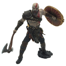 22cm NECA Toys Game God of War 4 Kratos PVC Action Figure Ghost of Sparta Kratos Collectible Model Doll Toy EO10 horror movie toys the crow brandon lee eric draven vs top dollar neca action figure pvc collectible model toy
