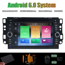 Android 6.0 Octa-core CAR DVD PLAYER for CHEVROLET AVEO EPICA LOVA CAPTIVA SPARK OPTRA AUTO Radio RDS STEREO WIFI 32G Flash