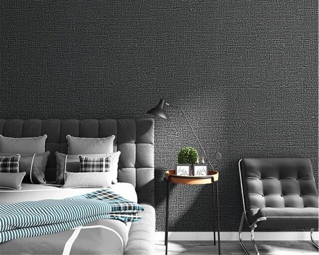 Kleur Slaapkamer Muur : Moderne plain pure kleur non wovens behang roll voor muren