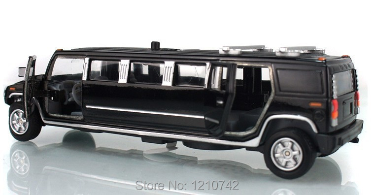 electronic limousines car toy acoustooptical model novelty alloy pull back car toygreat gifts