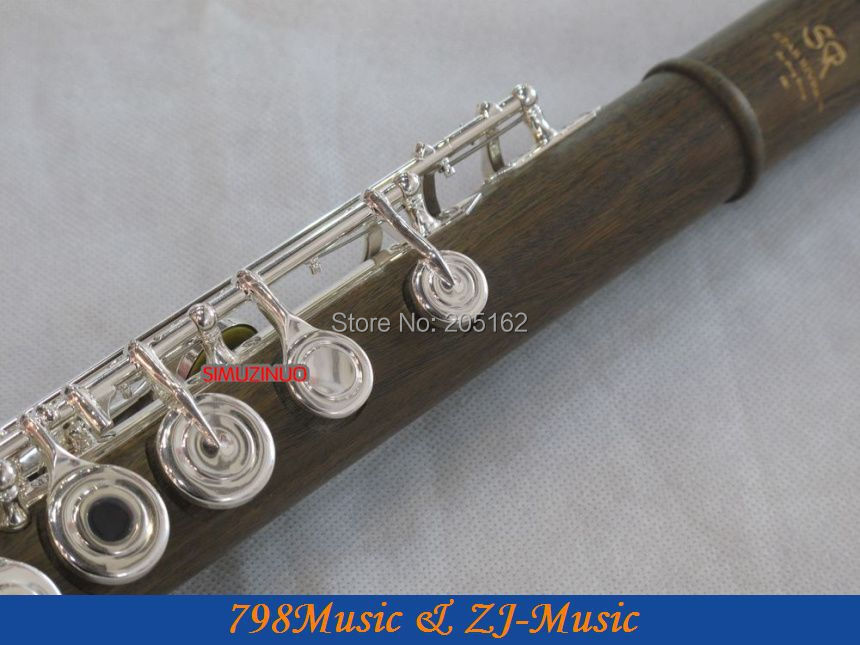 PROFESIONAL Hijau Cendana Flute-B-kaki-Open - Alat-alat musik - Foto 2